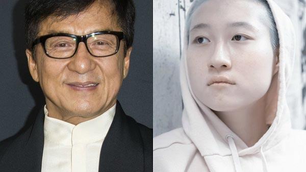 Джеки Чан и его дочь Этта