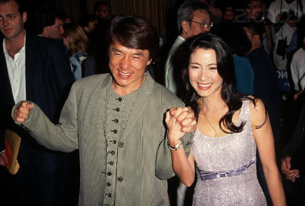 Джеки Чан с женой