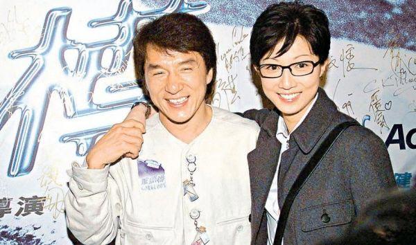 Мама Этты Нг с Джеки Чаном