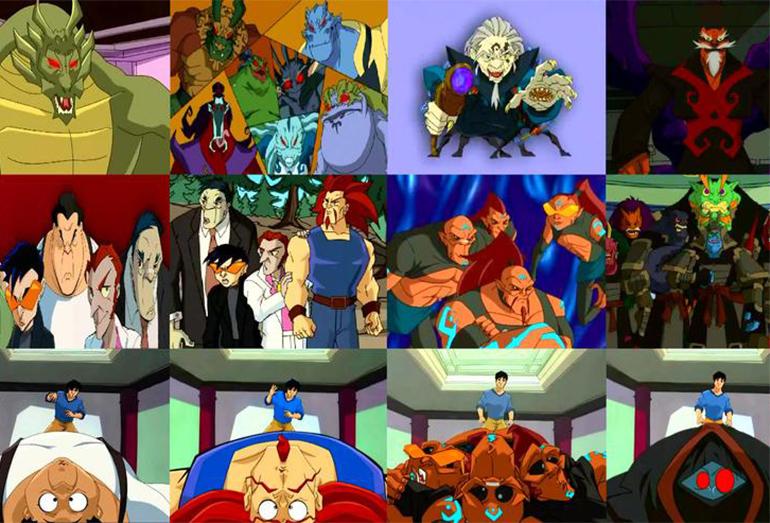 "Серия 1 ""Маски Шедохана / The Masks of the Shadowkhan"" (13.09.2003)"