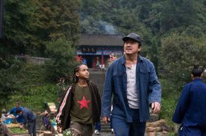 Кадр из фильма «Карате-пацан» (2010)